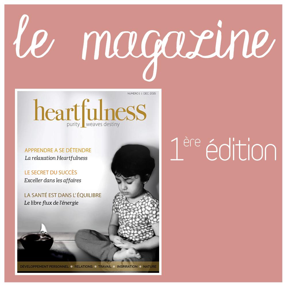Magazine Heartfulness - Numéro 1