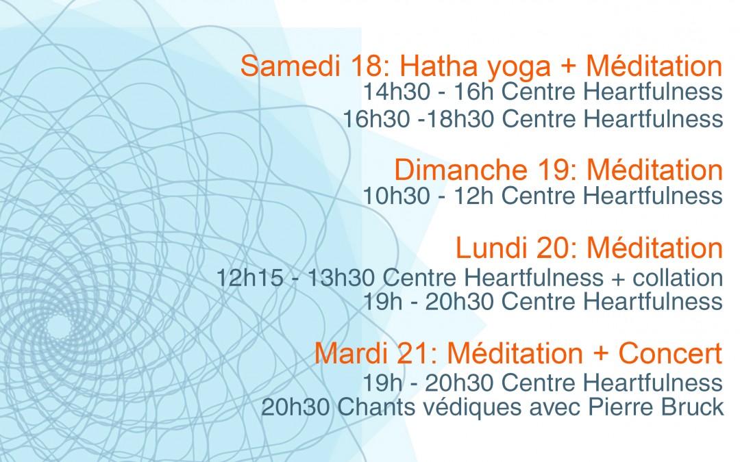 Journées Mondiales du Yoga à Montpellier