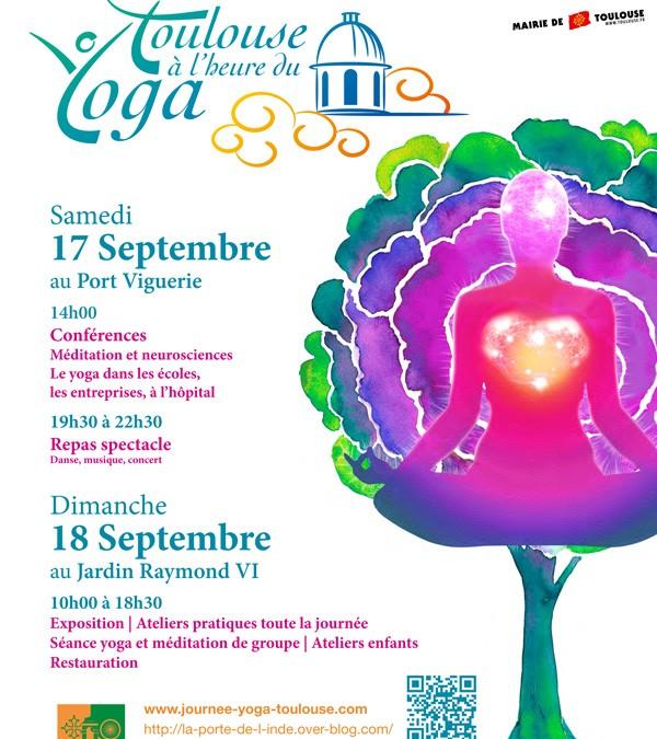 Toulouse à l'heure du yoga 17-18 septembre 2016