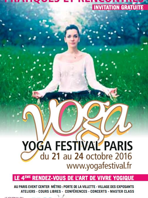 Heartfulness Paris présent au festival du yoga