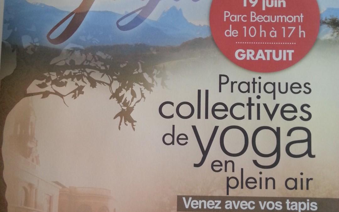 Journée internationale du yoga à Pau