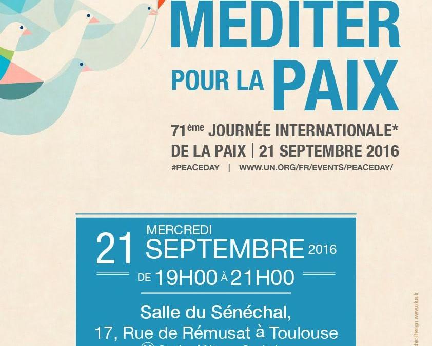 Journée internationale de la paix, à Toulouse