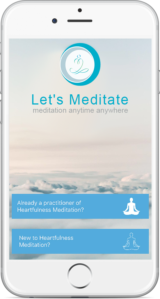 application Let's meditate