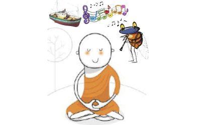 Acouphène et méditation, un apaisement salutaire.