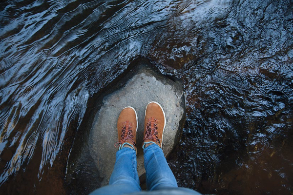 Marcher chaussures