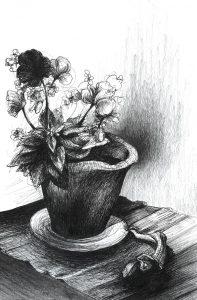 Art & méditation fleur