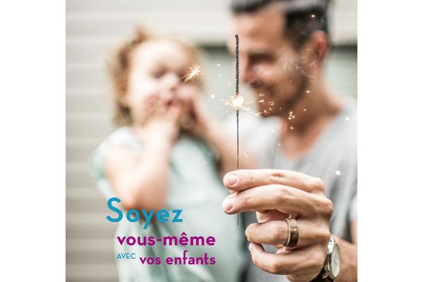 Être parent, soyez vous-même avec vos enfants