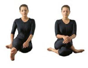 yogasanas heartfulness  gomukhasana  la posture de la
