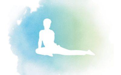 Yogasanas Heartfulness – RAJAKAPOTASANA – Posture du pigeon royal modifiée